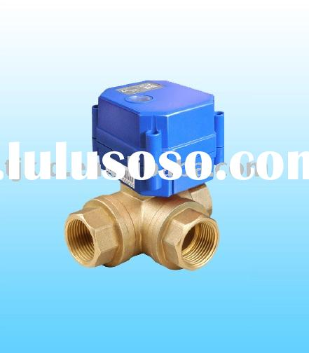 KLD20P 3 Way(B) Actuator Ball Valve for automatic control, HVAC, solar energy, solar heating ,water