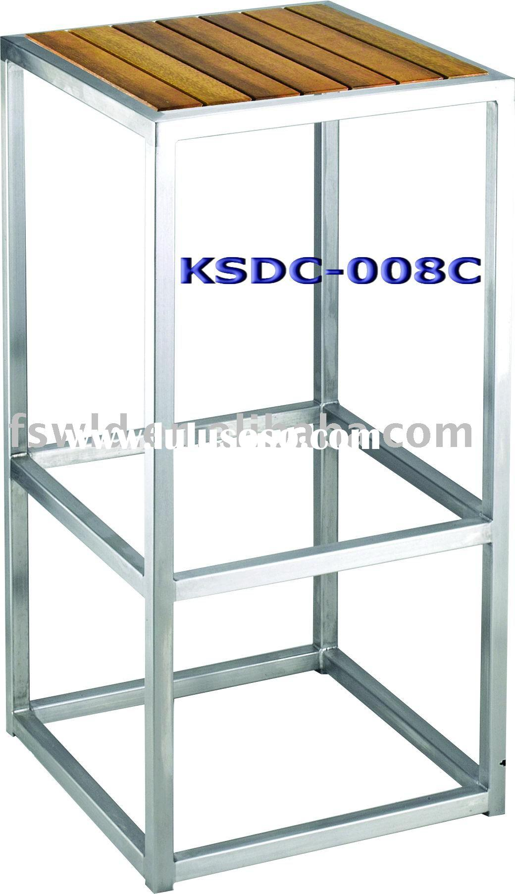 KSDC-008C Stainless Steel Bar Stools