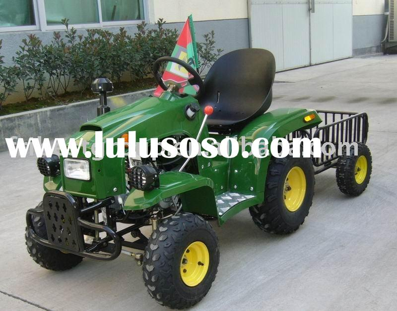 Kids tractor, 110cc Mini tractor, Kids vehicle with trailer, kids toy(FT110-T)