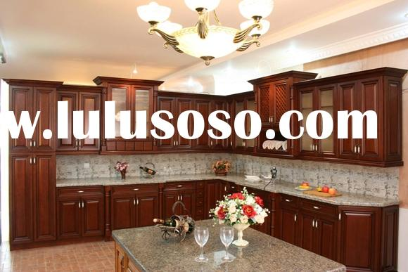 Kitchen Cabinets(Solid Cherry Wood Kitchen Cabinetry for Kitchen Project)