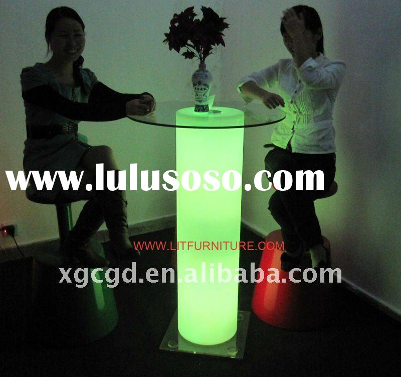 LED table/lighted table/bar furniture/outdoor furniture/ourdoor table/LED bar/bar chair/LED light ta