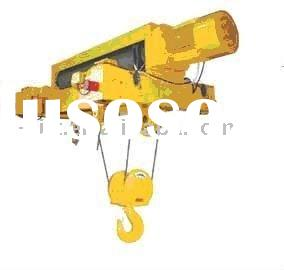 Light Duty Double Girder Electric Wire Rope Hoist WHD-B Type