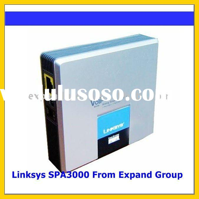 Linksys SPA3000 VOIP Adaptor FXS FXO PSTN (UNLOCKED)