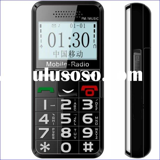 Low cost best prepaid phones for seniors/house cell phone/friendly phone
