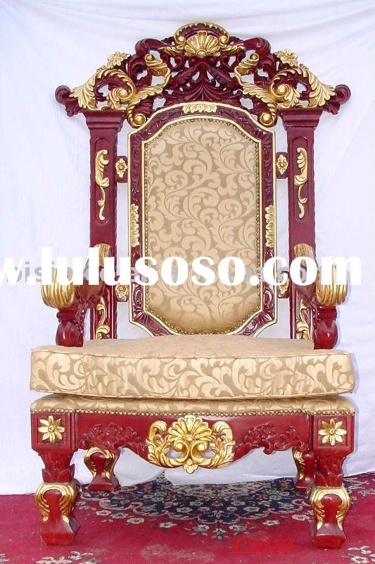 Luxury king chair,Hand carving wooden arm chairs,living room chairs