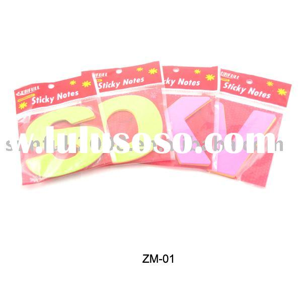 Memo pad, Sticky note,Post note