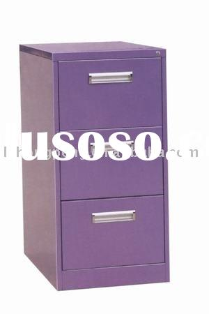 Metal furniture - Fashionable 3 drawer filing cabinet