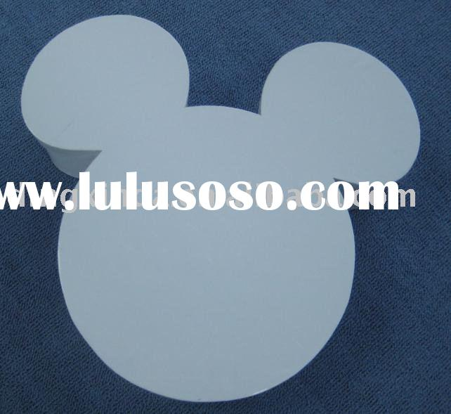 Mickey mouse shaped paper chocolate packaging box