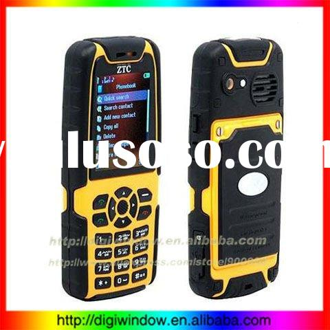 Military Quality Quad Band Cell Phone Shock Proof, Water Proof, Dust Proof, Rough-N-Tough +camera+Bl