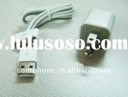 Mini usb power adapter for For ipad,iphone 4G/3GS/3G,with cable