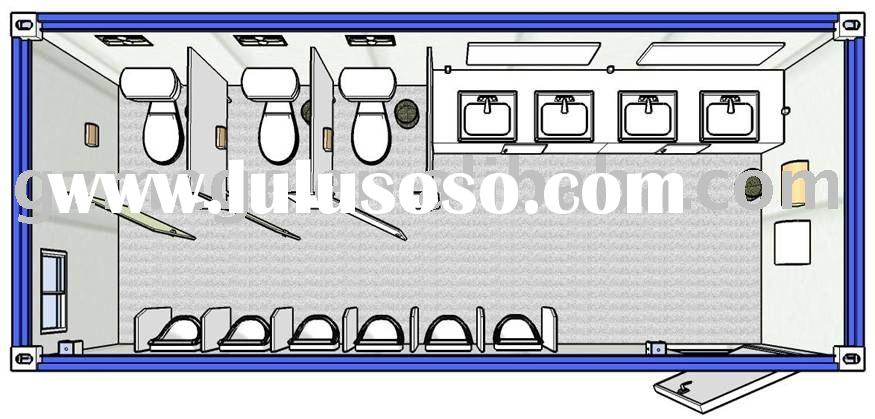 Mobile Container Toilet