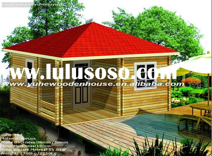 Mobile Leisure Wooden House