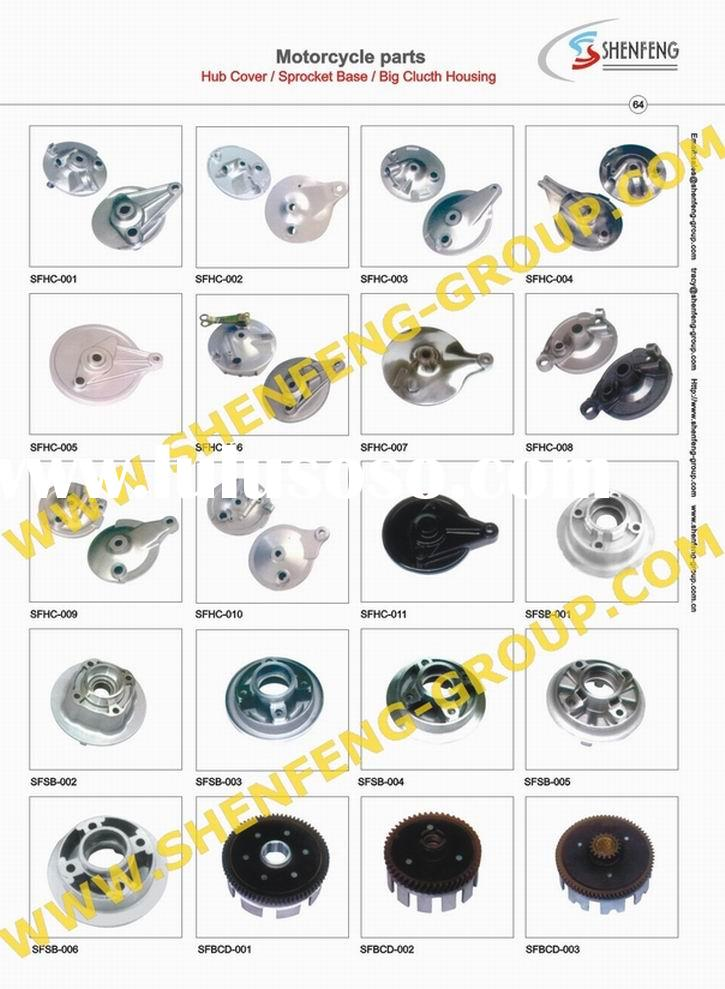 Motorcycle Hub Cover (hub cover,sprocket base,big clutch housing,motorcycle parts)