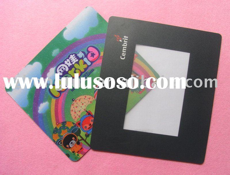 Multi-functional photo frame mouse pad