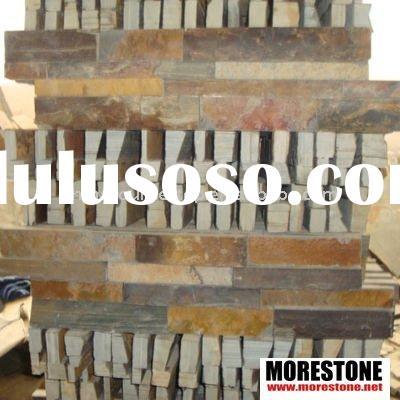 Natural slate stone for wall cladding