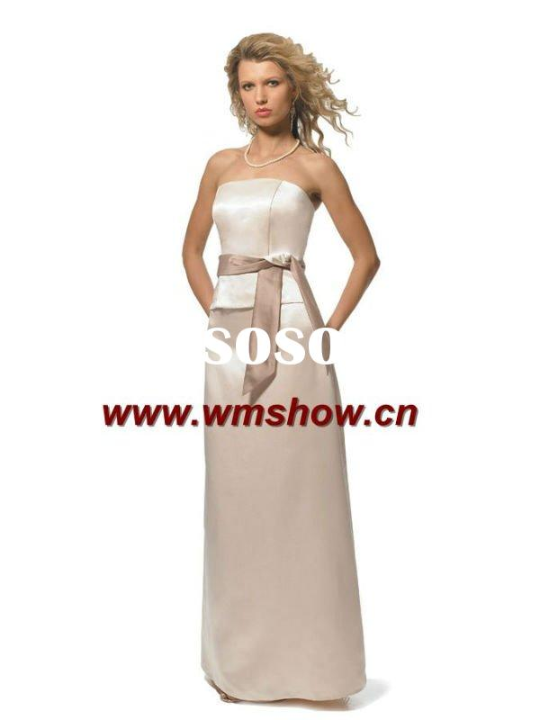 New Design Satin Bridesmaid Dress Patterns