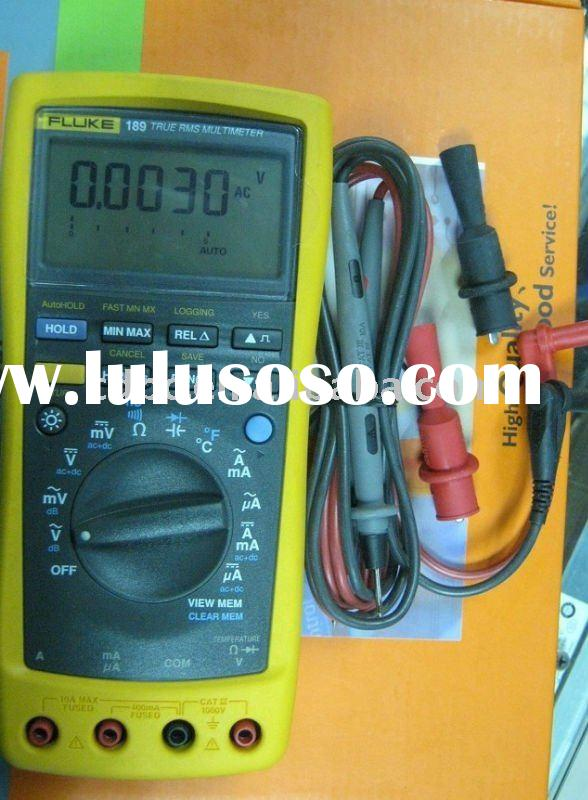 New-FLUKE 189 scope Digital multimeter-can Solve complex problems with advanced measurement function