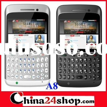 New design A8 android mobile phone Qwerty keyboard GPS celulares