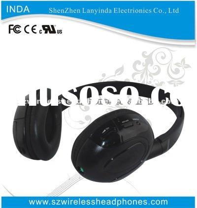 Newest wireless infrared headphone for TV/DVD/PC