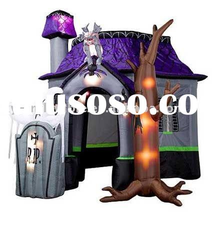 Newly design exciting inflatable halloween castle