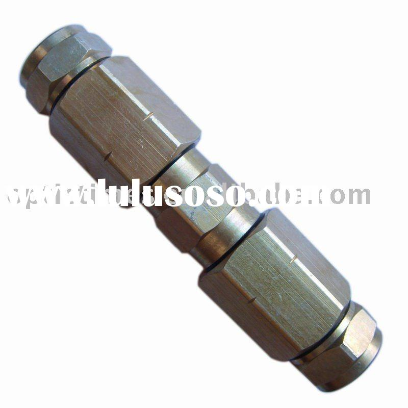 Coaxial Cable Crimp Quad Shield Rg6 Rg11 Connector For