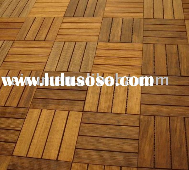 Outdoor Strand Woven Bamboo Flooring, Outdoor Bamboo Decking Tile