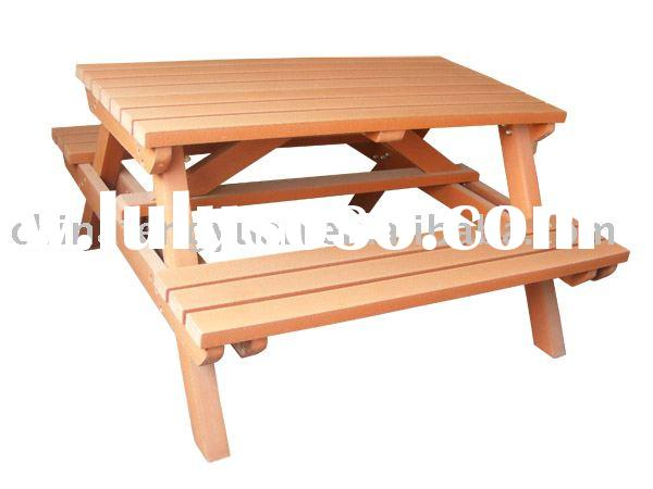 Outdoor picnic table, dining set, plastic table and chair set