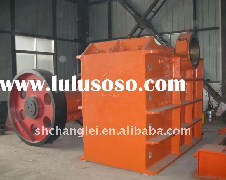 PE jaw stone crusher/used stone crusher for sale