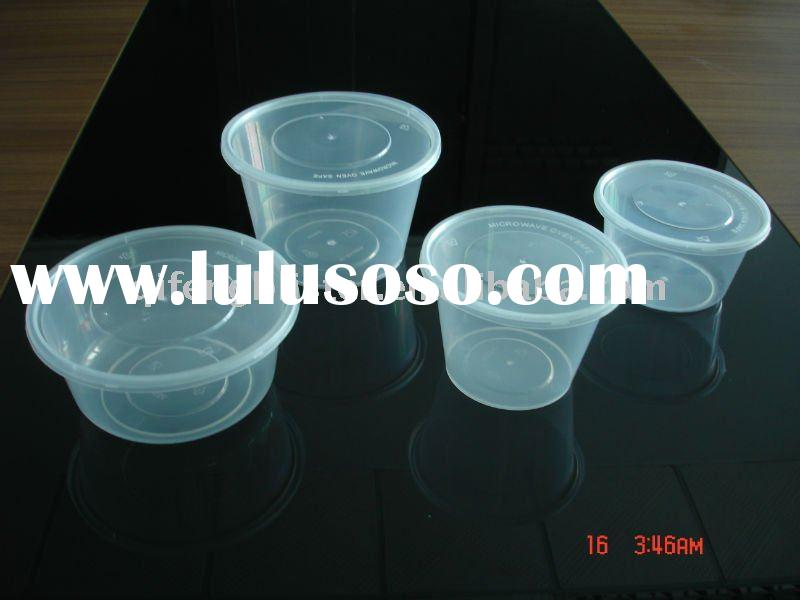 PP disposable plastic food /ice cream bowl packaging/packing container supplier