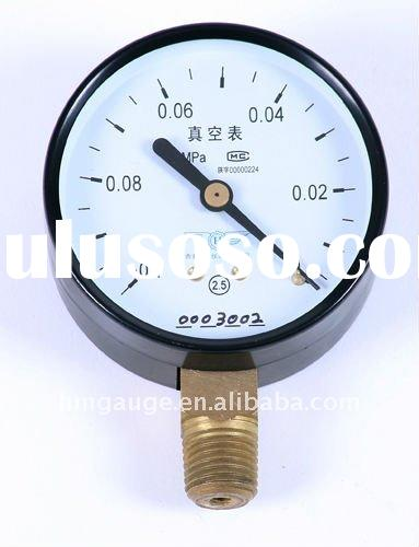 High Pressure Vacuum Gauge : Low high pressure refrigerant gauge for sale price china