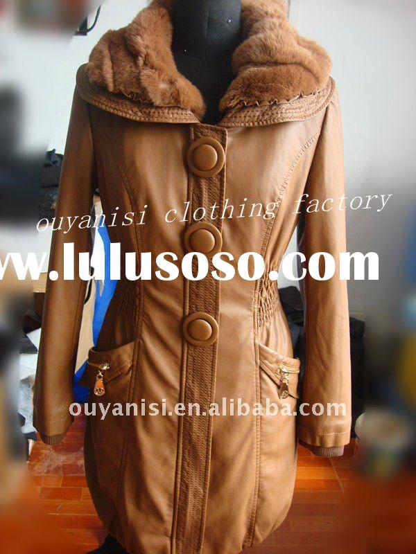 PU leather jacekets for women, brand new women clothing 2011, WHOLESALE!