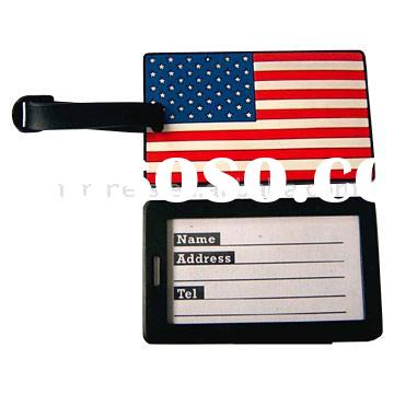 PVC Business Card Holder Luggage Name Tag