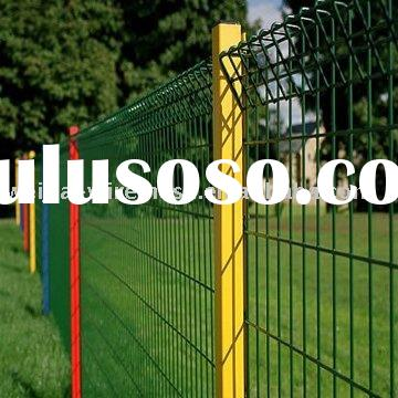 PVC coated Welded Wire Mesh Fence Panel(factory)
