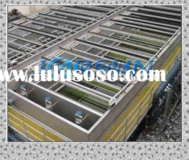 Pipe flocculation reactor use in ink sewage treatment