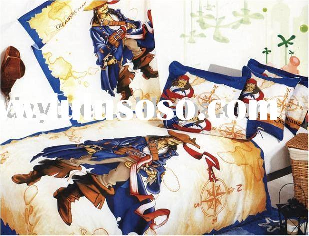 Pirates Of The Caribbean Bedding Set For Kids D019 On Sale Wholesale Drop Shipping For Sale