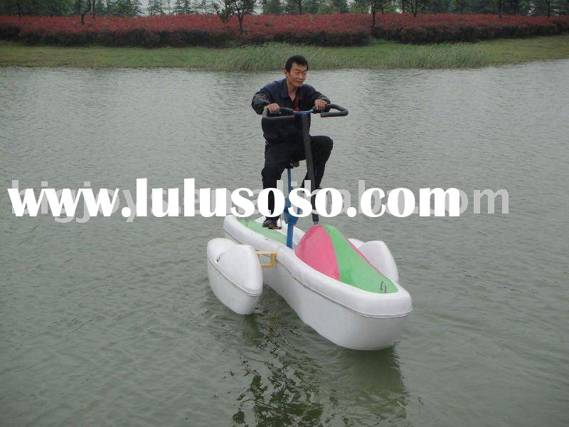 Pop single water bike/water bicycle for 1 person