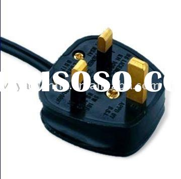 Power Plug (India),British (U.K) Type BSI 1363 Approved Power cords, Power Cable Plug Power Supply C