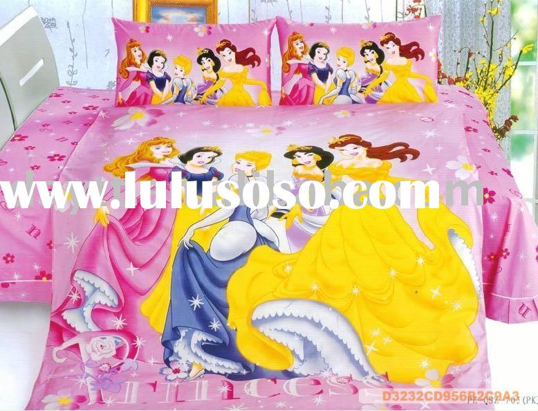 Princess Bedding Set for Kids D009 wholesale