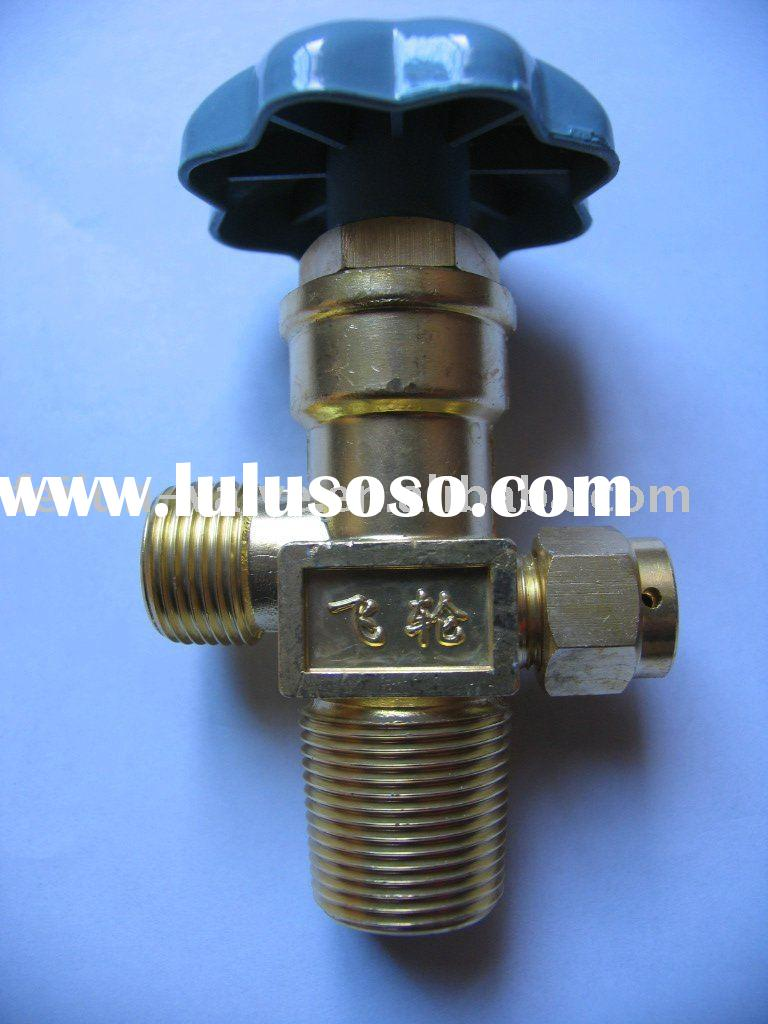 QF-2A coppery CO2 valve for gas cylinder
