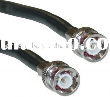 RG6 Coaxial Cable with BNC connector, Coaxial Cable RG6 with BNC plug