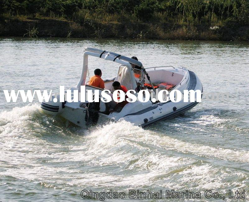 RIB boat (Rigid inflatable boat) 7.3 meters CE