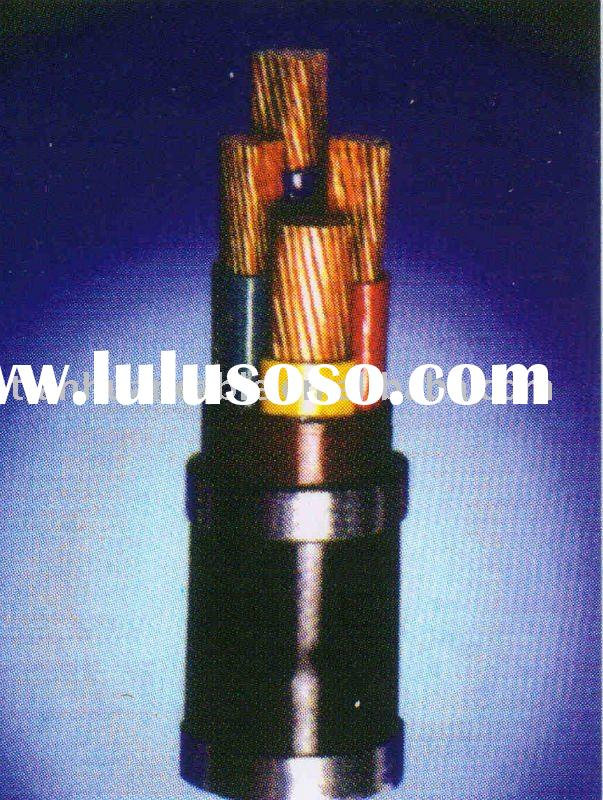 Rated Voltage 0.6/1kv 3.6/6kv Pvc Insulated wires and cables power cable