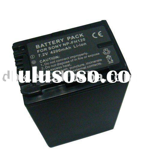 Rechargeable Digital Camcorder Battery Pack for SONY NP-FH120