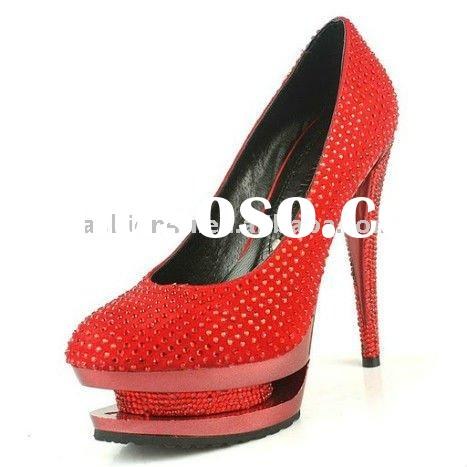 Red Ladies Dress Shoes
