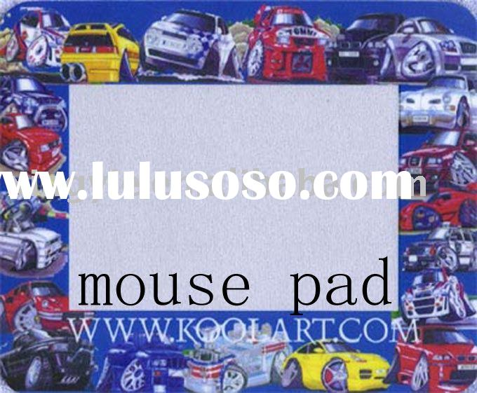 Rubber photo frame mouse pad