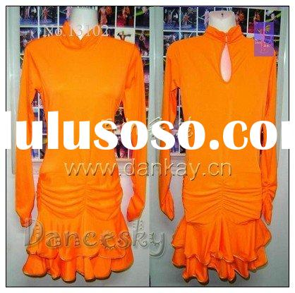 Rumba Salsa, Latin Dance Dress, Dancewear, Dancing Costumes, Children Latin Dress (13102)