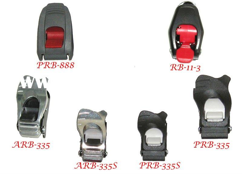 SNOWBOARD BINDING RATCHET BUCKLES