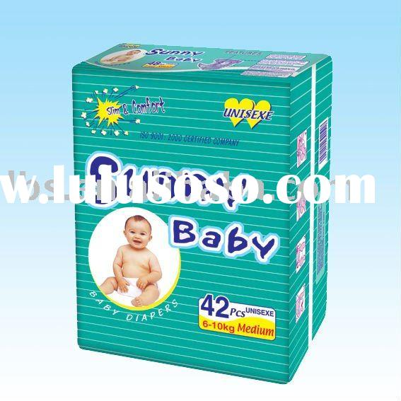 SUNNY BABY disposable diapers with cheap price