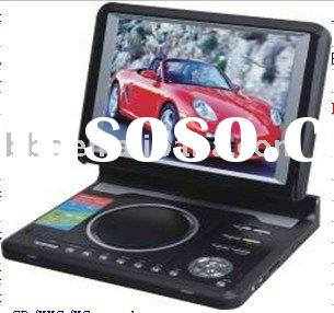 SY136 Portable DVD/TV/GAME/USB/MPEG4/Card reader with 10.4'' TFT player