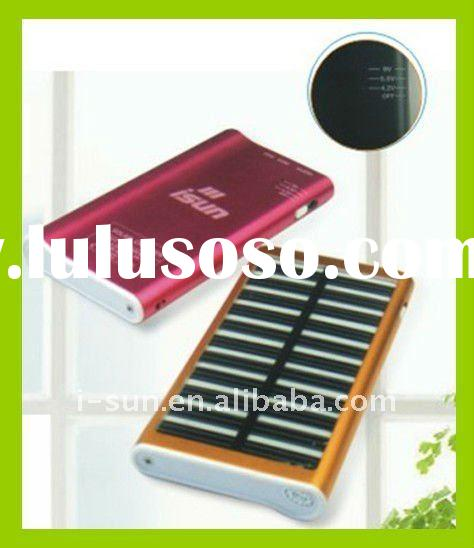 S-PM1021 solar ipod charger with adjustable voltage